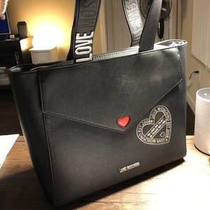 Love Moschino Saffiano Eco leather tote bag